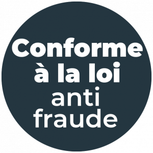 Conforme à la loi anti fraude